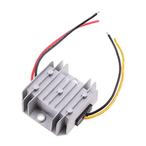 MagiDeal Einstellbare Stromversorgungs Regler Modul 12V bis 24V Step Up Leistungswandler mit Gehäuse