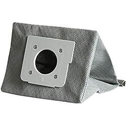 Sac D'Aspirateur Nettoyable,CHshe, Sac À Poussière En Tissu Lavable D'Aspirateur Pour Lg V-743Rh V-2800Rh V-943Har, abdos gris