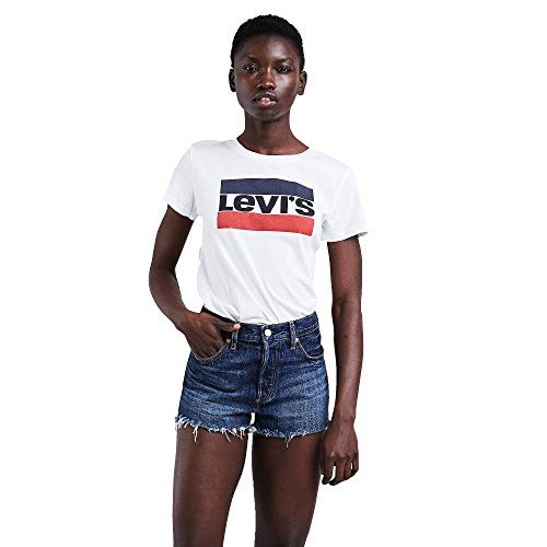 41T%2BpsMLZYL - Levi's The Perfect Tee, T-Shirt Donna