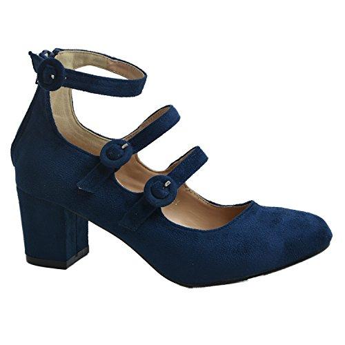 cucu-fashion-brand-new-womens-mary-jane-pumps-ladies-triple-straps-low-mid-block-heel-casual-shoes-n