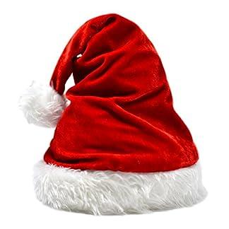 jowiha–® Gorro de Papá Noel Terciopelo Lady Santa One Size