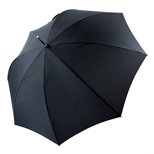 Regenschirm Stützschirm Herrenschirm Akazie ombré geflammt