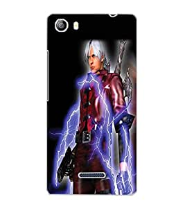 MICROMAX CANVAS 5 WARRIOR Back Cover by PRINTSWAG