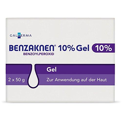 Benzaknen 10% 2X50 g -