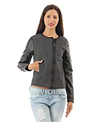 Pepe Jeans Womens Casual Jacket (_8903872654772_Black_X-Large_)