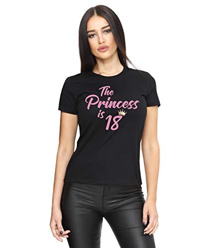 Cold & Heartless 18. Geburtstag Mädchen T-Shirt (Schwarz, L)