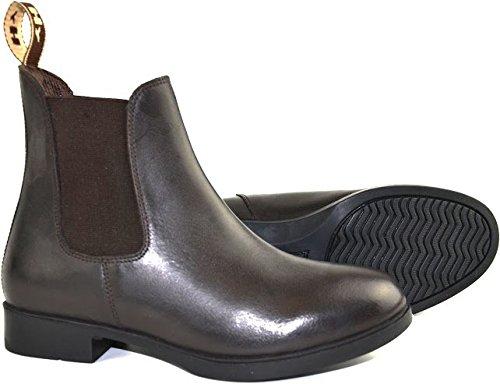 Hyland Durham Jodhpur-Stiefel in schwarz und braun für Kinder 7,8,9,10,11,12,13,1,2,3(1/188), Childs 10