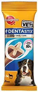 Pedigree Dentastix - Large Dog 7 Stick (Pack of 10) from Mars Petcare Uk