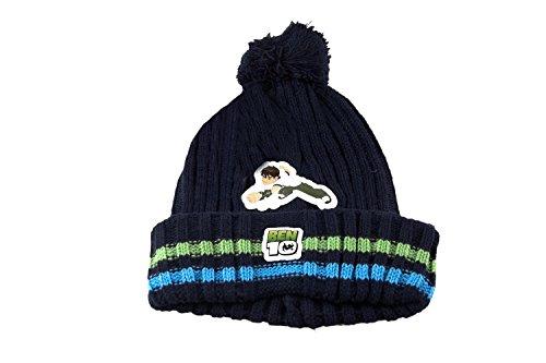 Set BEN TEN 10 cadeau petit garçon écharpe Chapeau avec pon pon bleu L875
