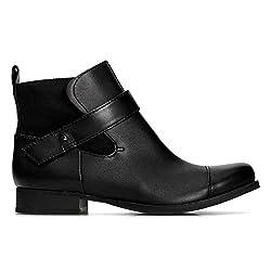 Clarks Ladbroke Magic Leather Boots in Black - 41T 2BxHya5qL - Clarks Ladbroke Magic Womens Ankle Boots