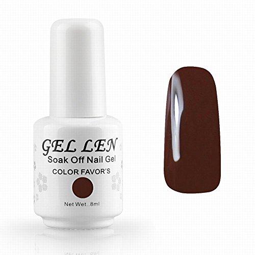 gellen-brand-uv-led-gel-polish-nail-polish-nail-art-soak-off-color-gel-nails-8ml-dark-brown
