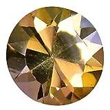 0,70 ct Rundschliff (6 x 6 mm) ungeheizt Fancy Lila Tanzanit Natur lose Edelstein