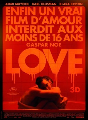 LOVE – Gaspar Noe – French Imported Movie Wall Poster Print - 30CM X 43CM Brand New