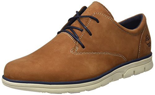 Timberland Bradstreet Pt Oxfordsaddle Nubuck, Oxford Homme Marron (Saddle Nubuck)