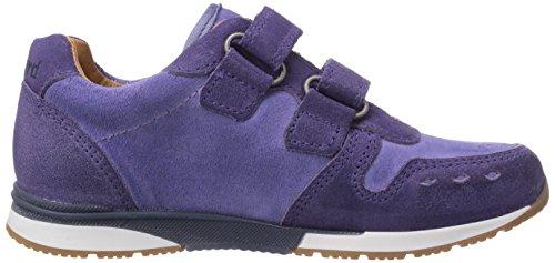 Bisgaard Velcro shoes Unisex-Kinder Sneakers Violett (96 Lavender)