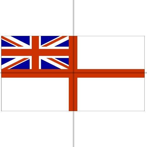 White Ensign, Flagge der Royal Navy, 1,52x0,91m -