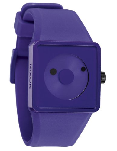 nixon-mens-newton-a116230-00-purple-plastic-quartz-watch-with-purple-dial