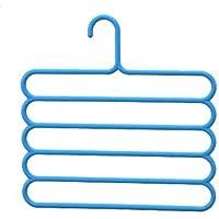 BestYT Percha Multifuncional para Ropa de Dormitorio, Multicapa, Plegable
