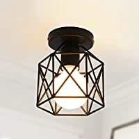 BBSLT Natale lampada da soffitto, LED, corridoi e corridoi, balcone, spogliatoio, Foyer, ferro, (15*17cm)