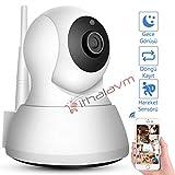 Gece Görüşlü Bebek İzleme Kamerası WIFI Smart Kamera