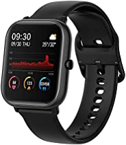 Ametoys P20 1.4'' Full Touch Smart Watch,Multi-sport Modes,Heart Rate Monitoring,cientific Sleep,Water