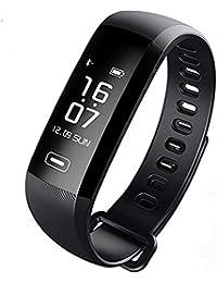 TEZER R5 Digital Uhr Fitness Armbanduhr Fitness Tracker Smartwatch Wasserdicht IP67 Aktivitätstracker Schrittzähler Armbanduhr Schlafanalyse Kalorienzähler SMS Bluetooth Tracker mit IOS Android