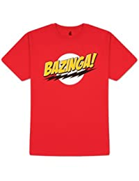 Coole-Fun-T-Shirts T-Shirt The Big Bang Theory - Bazinga