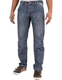 ENZO Jambe droite Jeans pour hommes- UK Tailles