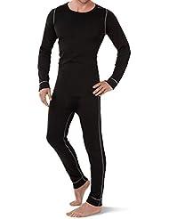 CFLEX POLARDRY - Set de ropa térmica y para esquí para hombre - Negro/gris - L