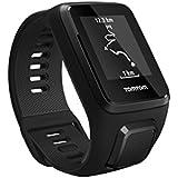 TomTom Spark 3 Cardio - Montre de Fitness GPS - Bracelet Fin Noir (ref 1RK0.002.01)