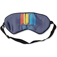 Retro San Antonio Texas Skyline 99% Eyeshade Blinders Sleeping Eye Patch Eye Mask Blindfold For Travel Insomnia... preisvergleich bei billige-tabletten.eu