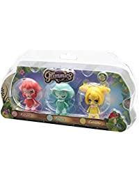 Glimmies Triple Blister Pluma Rubina Cornelie Dolls - Glimmies Llight-Up Function