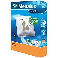 Menalux 2001 – Bolsas para aspiradores Bosch, Siemens y Ufesa