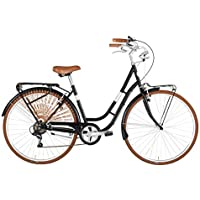 """Alpina Bike America 28"""", Bicicletta Donna, Nero, 6v"""