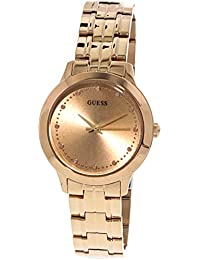 Guess Chelsea Analog Rose Gold Dial Women's Watch - W0989L3