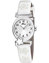 Lotus Reloj Analógico para Niñas de Cuarzo con Correa en Cuero ... ab97b958d6b