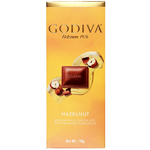 Godiva Belgian Milk Chocolate With Roasted Hazelnuts, 90g