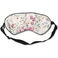 Floral Pattern 99% Eyeshade Blinders Sleeping Eye Patch Eye Mask Blindfold For Travel Insomnia Meditation preisvergleich bei billige-tabletten.eu