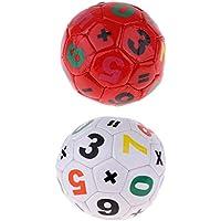 F Fityle 2 Piezas Juguete de Balón de Fútbol para Infantiles Unisex de Tamaño Estándar