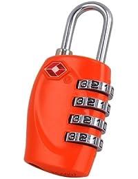 TRIXES Cadenas avec code à 4 chiffres TSA pour valises et sacs