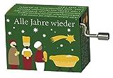 Fridolin Spieluhr Minidrehorgel Alle Jahre Wieder Weihnachtslied