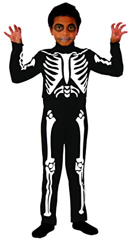 Kostüm Squelette - Cesar-D474-Kostüm Skelett-8/10Jahre