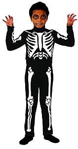 Cesar D474-Disfraz esqueleto-8/10años