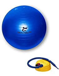 gimer 10/083, gymball anti-explosion unisexe – Adulte, Olympique, 25 x 19 x 13 cm
