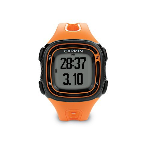garmin-forerunner-10-gps-watch-black-orange-sport-fitness-training-health-exercise-gear
