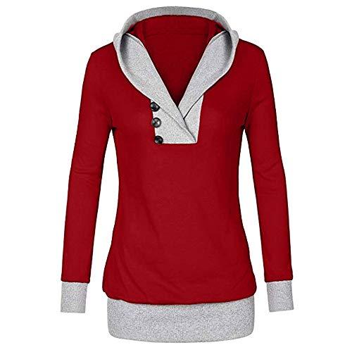 Subfamily-Pullover Heißer Einzigartiges Design Mode Damen Frauen Frohe Weihnachten Schneeflocke Gedruckt Tops Cowl Neck Casual Sweatshirt ()