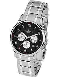 Jacques Lemans Herren-Armbanduhr XL London Chronograph Quarz Edelstahl 1-1654I