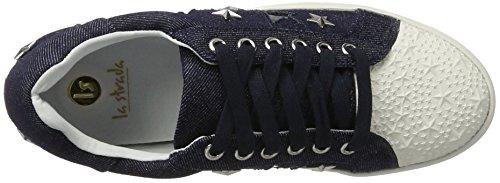 La Strada Damen 962379 Sneaker Blau (JEANS BLUE)