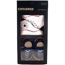Converse - Patucos de sintético para niño, color azul, talla 0.5 Child UK