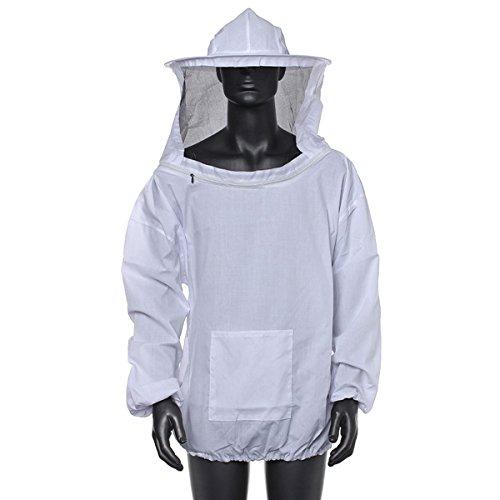 Tutoy Bienenzucht-Jacke Schleier-Kittel-Ausrüstung Versorgungsmaterialien Biene Die Hut-Hülsen-Klage Hält (Kostüm Katze Einem In Bienen)